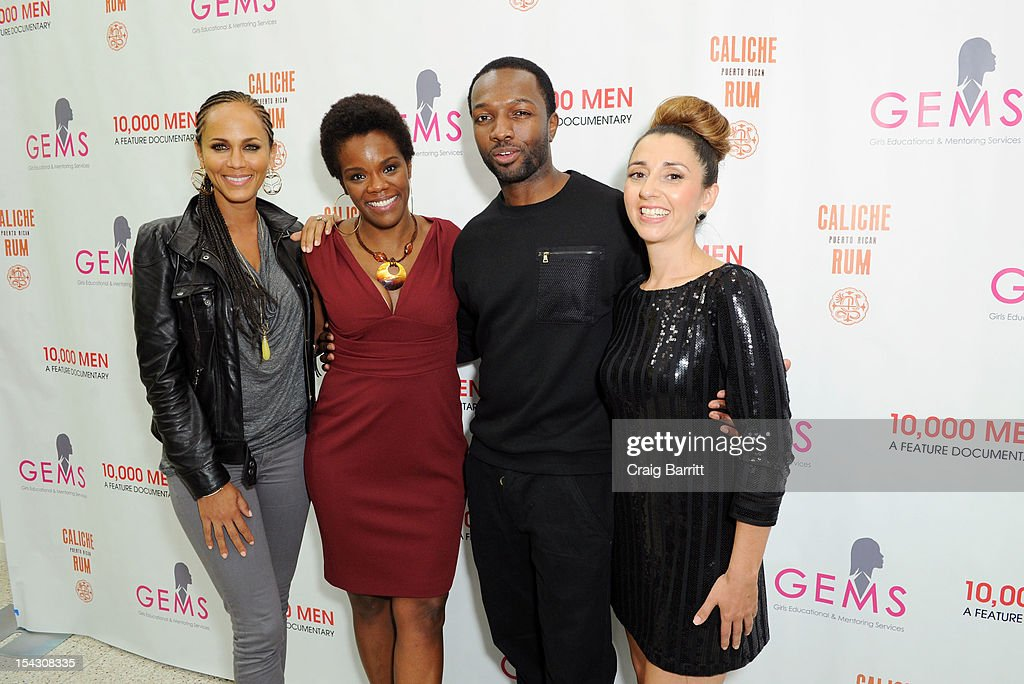 <a gi-track='captionPersonalityLinkClicked' href=/galleries/search?phrase=Nicole+Ari+Parker&family=editorial&specificpeople=884033 ng-click='$event.stopPropagation()'>Nicole Ari Parker</a>, Roz Coleman, <a gi-track='captionPersonalityLinkClicked' href=/galleries/search?phrase=Jamie+Hector&family=editorial&specificpeople=666307 ng-click='$event.stopPropagation()'>Jamie Hector</a> and Rachel Lloyd attend the GEMS Girls Like Us Benefit Gala hosted by Demi Moore And Rachel Lloyd at El Museo Del Barrio on October 17, 2012 in New York City.