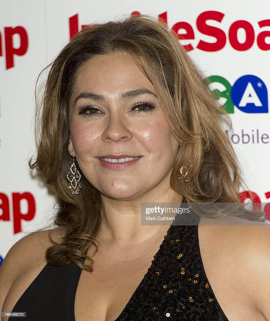 Nicole Barber-Lane attends the Inside Soap Awards at Ministry Of Sound on October 21, 2013 in London, England.