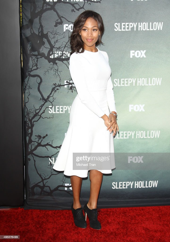 Nicole Beharie arrives at Fox's 'Sleepy Hollow' special screening held at Hollywood Forever on June 2, 2014 in Hollywood, California.