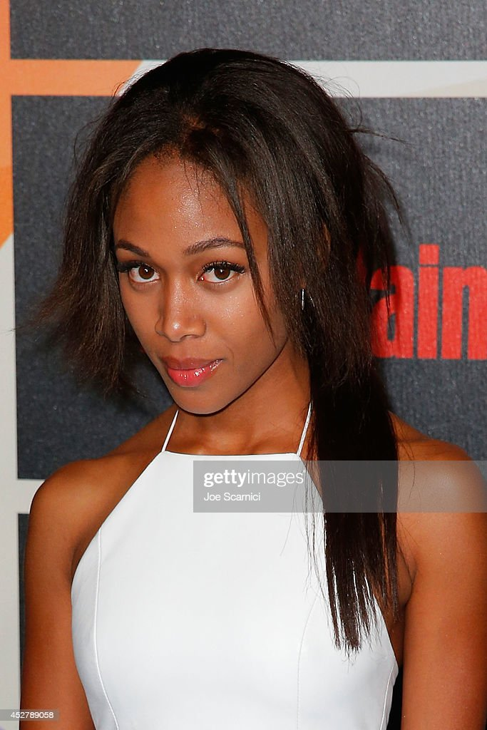 <a gi-track='captionPersonalityLinkClicked' href=/galleries/search?phrase=Nicole+Beharie&family=editorial&specificpeople=5806791 ng-click='$event.stopPropagation()'>Nicole Beharie</a> arrives to Entertainment Weekly's Annual Comic Con Celebration during Comic-Con International 2014 at Float at Hard Rock Hotel San Diego on July 26, 2014 in San Diego, California.