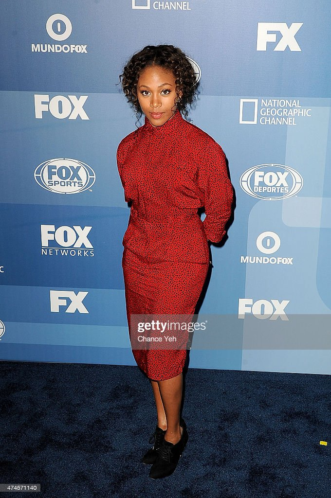 Nicole Beharie attends 2015 FOX Programming Presentation at Wollman Rink, Central Park on May 11, 2015 in New York City.