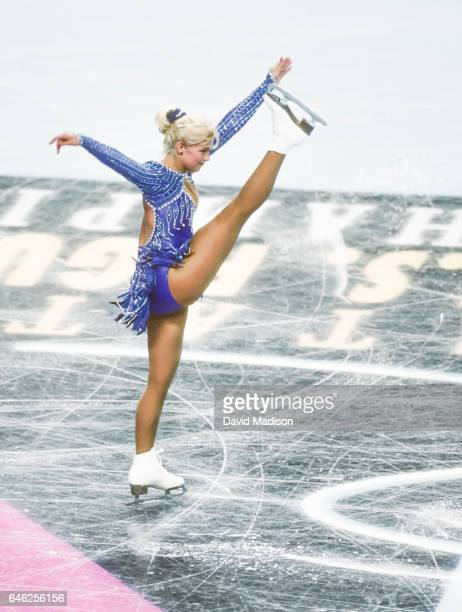Nicole Bobek of the USA competes in the 1996 United States Figure Skating Championships held from January 1321 1996 in the San Jose Arena in San Jose...