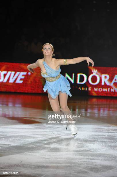 Nicole Bobek performs during Caesars Tribute II A Salute to the Ladies of the Ice on December 3 2011 at Boardwalk Hall in Atlantic City New Jersey
