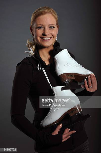 Nicole Bobek poses for a portrait during Caesars Tribute II A Salute to the Ladies of the Ice on December 3 2011 at Boardwalk Hall in Atlantic City...
