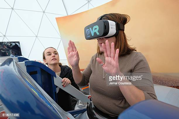 Nicole Cappello attends the National Geographic Channel's Experience MARS Immersive Activation on October 25 2016 in New York City
