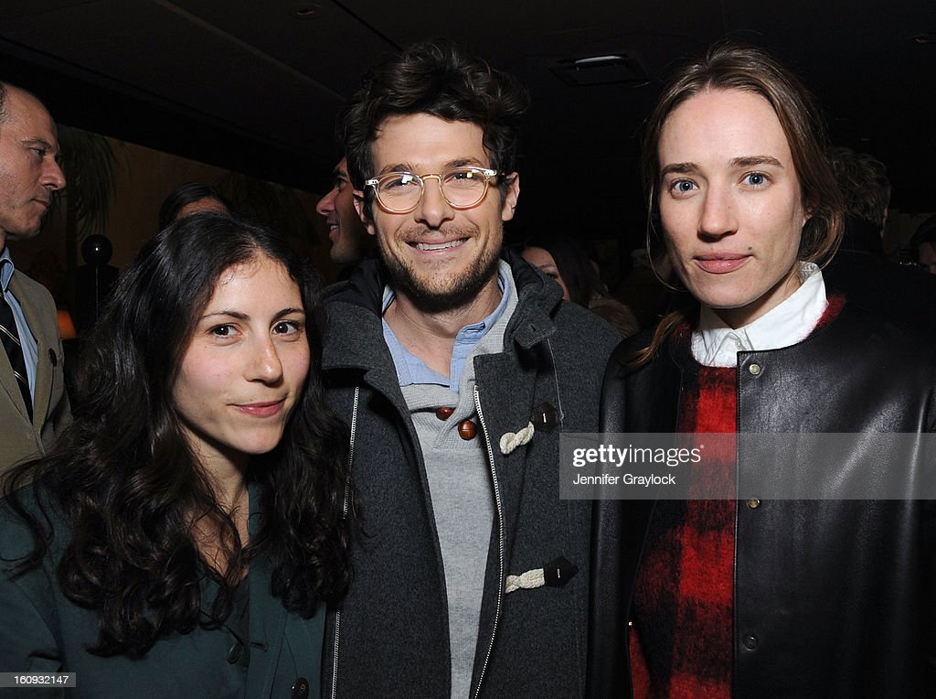 Nicole Cari, Jacob Soboroff and Daphne Javitch attend the Band Of Outsiders Fashion Week Mens Collection After Party held at the Monkey Bar on February 7, 2013 in New York City.