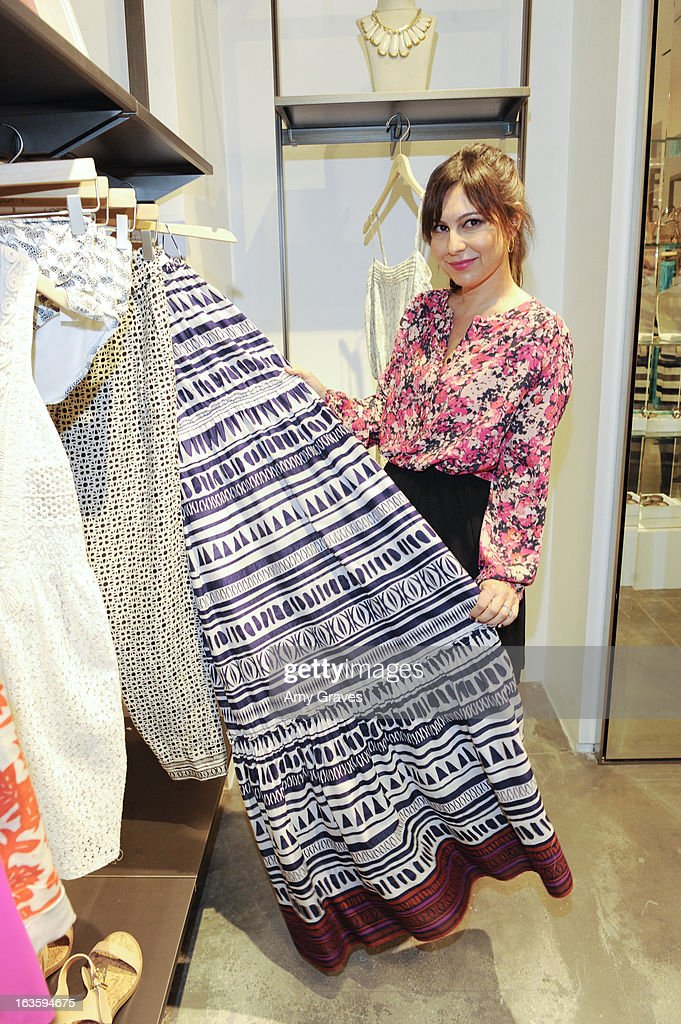 Nicole Chavez attends the LOFT Pop-Up On Robertson event on March 12, 2013 in Los Angeles, California.