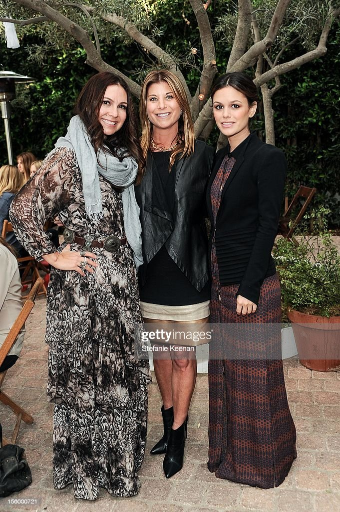 Nicole Chavez, Gina Kohler and Rachel Bilson attend ShoeMint Celebrates 1 Year Anniversary With Rachel Bilson And Nicole Chavez at Laurel Hardware on November 10, 2012 in West Hollywood, California.