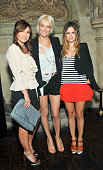 Nicole Chavez Vanessa Bruno and Rachel Bilson attend Vanessa Bruno Dinner at Chateau Marmont on July 21 2010 in Los Angeles California