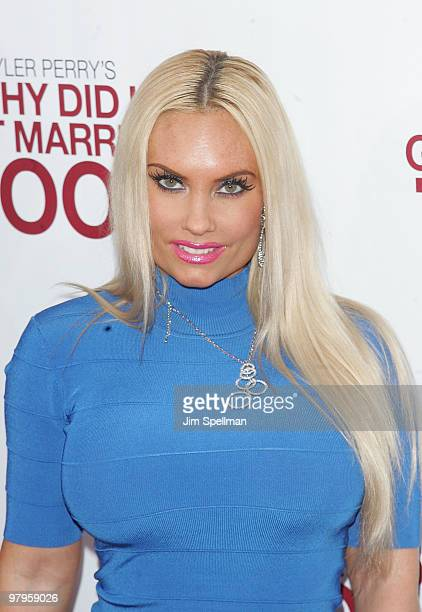Nicole 'Coco' Austin attends the premiere of 'Why Did I Get Married Too' at the School of Visual Arts Theater on March 22 2010 in New York City