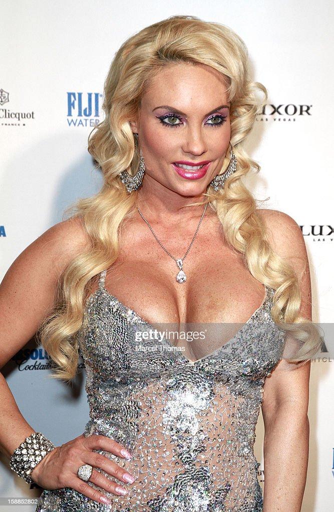 Nicole 'Coco' Austin hosts New Year's Eve at LAX nightclub on December 31, 2012 in Las Vegas, Nevada.