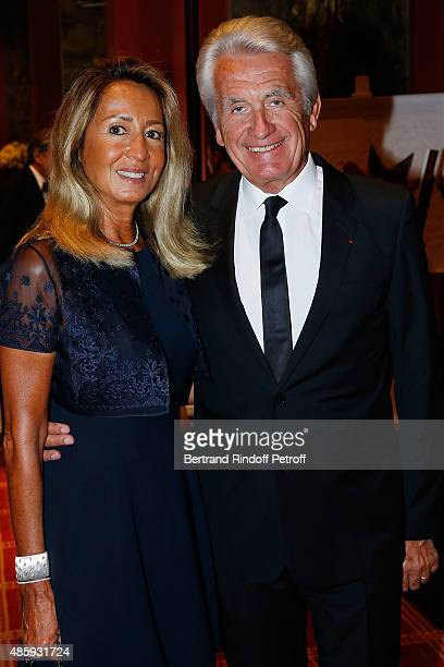 Nicole Coullier and Gilbert Coullier attend the Grand Bal de Deauville For Care France Association with Dior in Casino Barriere de Deauville on...