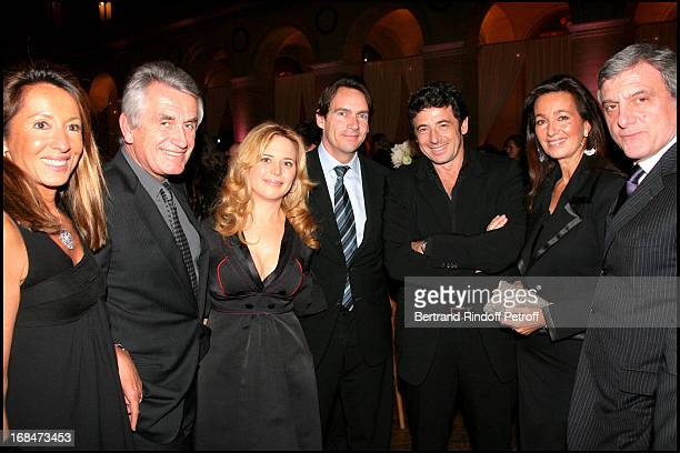 Nicole Coullier Gilbert Coullier Julie Snyder and husband Pierre Karl Peladeau Patrick Bruel Katia and Sidney Toledano at The Gala Scopus Award 2007...