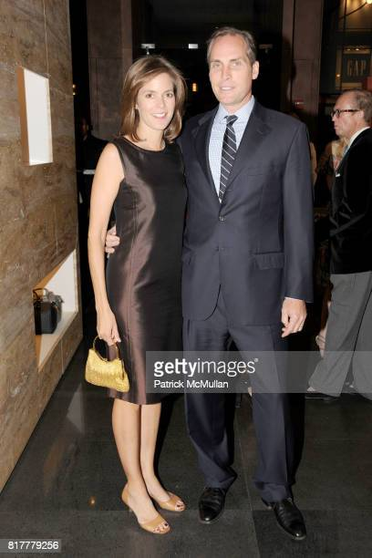 Nicole Cunningham and Keith Cunningham attend FOUNTAIN HOUSE 2010 Fall Fete Sponsored by FENDI at Fendi 5th Ave The Racquet Tennis Club on October 20...