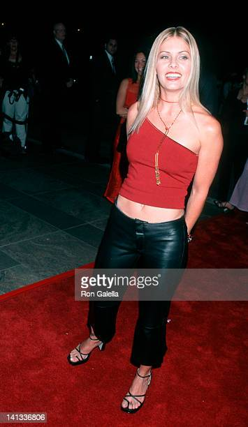 Nicole Eggert at the 10th Anniversary Party for 'Baywatch' Miramar Fairmont Hotel Santa Monica