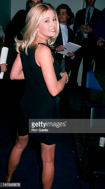 Nicole Eggert at the 2nd Annual ESPY Awards Madison Square Garden New York City