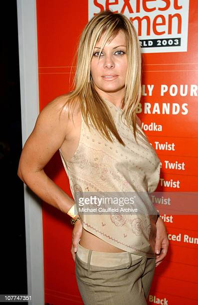 Nicole Eggert during FHM Magazine Hosts The '100 Sexiest Women in the World' Party at Raleigh Studios in Hollywood California United States