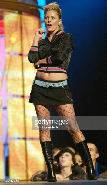 Nicole Eggert during First Annual Spike TV Video Game Awards Show and Backstage at MGM Grand Casino in Las Vegas Nevada United States