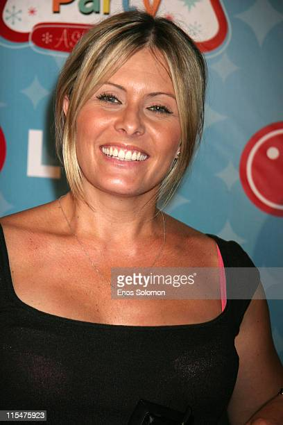 Nicole Eggert during LG Mobile TV Party at Stage 14 Paramount Studios in Hollywood CA United States