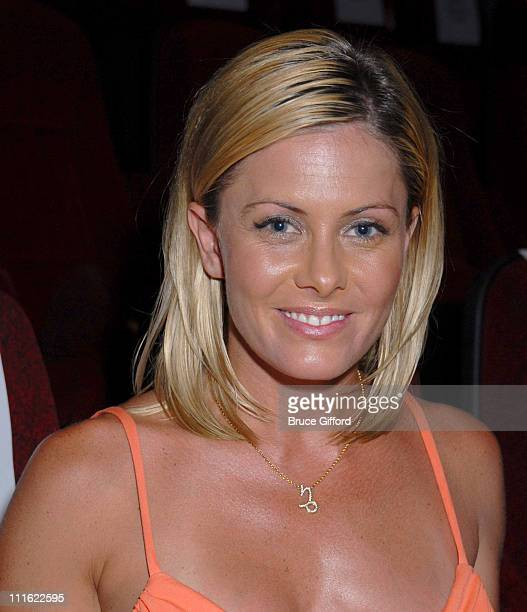 Nicole Eggert during Palms Casino Resort Brenden Theatres and N9NE Group Host Premiere of 'National Lampoon's Cattle Call' at Palms Casino Resort in...