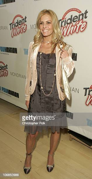 Nicole Eggert during Trident White Presents 'Black and White Party' Hosted by McG and Stephanie Savage Benefitting Martin Scorsese's Film Foundation...