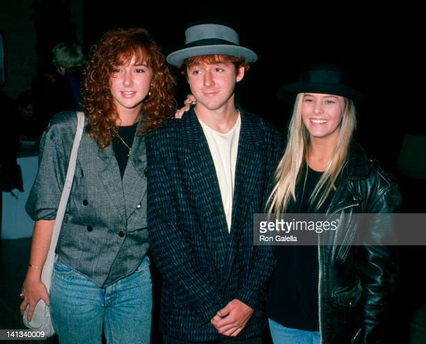 Nicole Eggert Scott Grimes and Nicole Grimes at the Premiere of 'Punchline' Mann Chinese Theater Hollywood