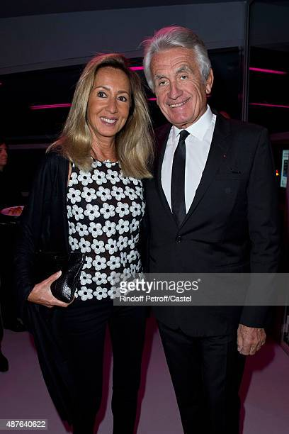 Nicole et Gilbert Coullier attend the Auction Dinner to Benefit 'Institiut Imagine' on September 10 2015 in Paris France