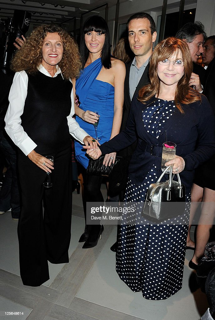 Nicole Farhi, <a gi-track='captionPersonalityLinkClicked' href=/galleries/search?phrase=Linzi+Stoppard&family=editorial&specificpeople=556273 ng-click='$event.stopPropagation()'>Linzi Stoppard</a>, <a gi-track='captionPersonalityLinkClicked' href=/galleries/search?phrase=Will+Stoppard&family=editorial&specificpeople=556279 ng-click='$event.stopPropagation()'>Will Stoppard</a> and <a gi-track='captionPersonalityLinkClicked' href=/galleries/search?phrase=Miriam+Stoppard&family=editorial&specificpeople=570259 ng-click='$event.stopPropagation()'>Miriam Stoppard</a> attend the opening of the Nicole Farhi global flagship store on September 19, 2011 in London, England.