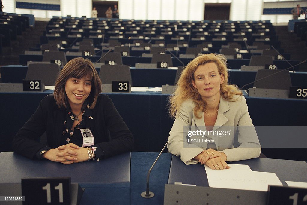 nicole fontaine elected president of the european parliament pictures getty images. Black Bedroom Furniture Sets. Home Design Ideas