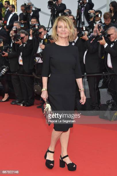 Nicole Garcia attends the 70th Anniversary of the 70th annual Cannes Film Festival at Palais des Festivals on May 23 2017 in Cannes France