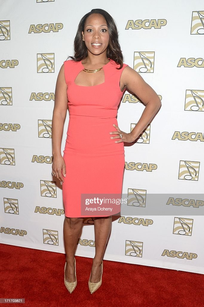 Nicole George Middleton attends The American Society of Composers, Authors and Publishers (ASCAP) 26th Annual Rhythm & Soul Music Awards at The Beverly Hilton Hotel on June 27, 2013 in Beverly Hills, California.