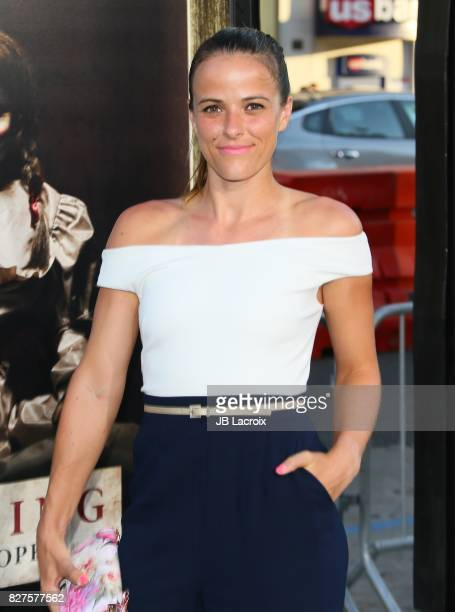 Nicole Gibbs attends the premiere of New Line Cinema's 'Annabelle Creation' on August 07 2017 in Los Angeles California
