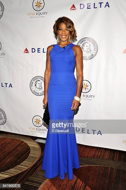 Nicole Henry attends as the Friars Club honors Tony Bennett with the Entertainment Icon award at the New York Sheraton Hotel Tower on June 20 2016 in...