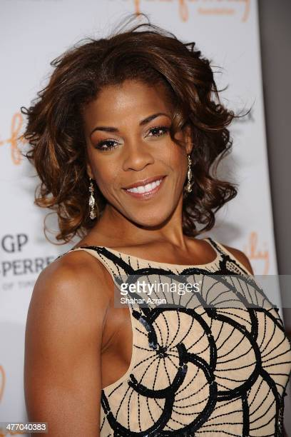 Nicole Henry attends We Are Family Foundation 2014 Gala at Hammerstein Ballroom on March 6 2014 in New York City