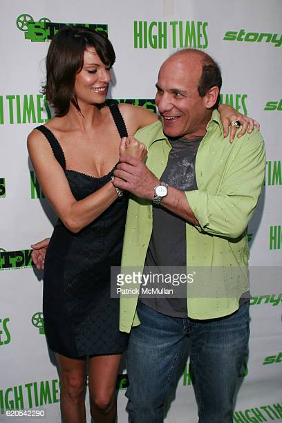 Nicole Hiltz and Paul BenVictor attend 2008 High Times Stony Awards at Malibu Inn on September 27 2008 in Malibu CA