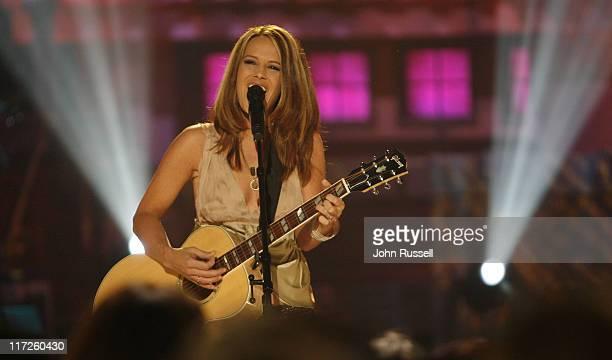 Nicole Jamrose during Nashville Star Season 4 Episode 8 at TV Studio in Nashville TN United States
