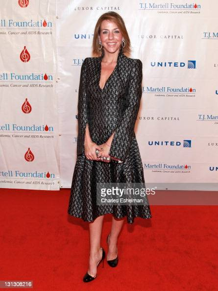 Nicole Jaracz attends the 36th annual TJ Martell Foundation's Honors gala at the Marriott Marquis Times Square on November 3 2011 in New York City