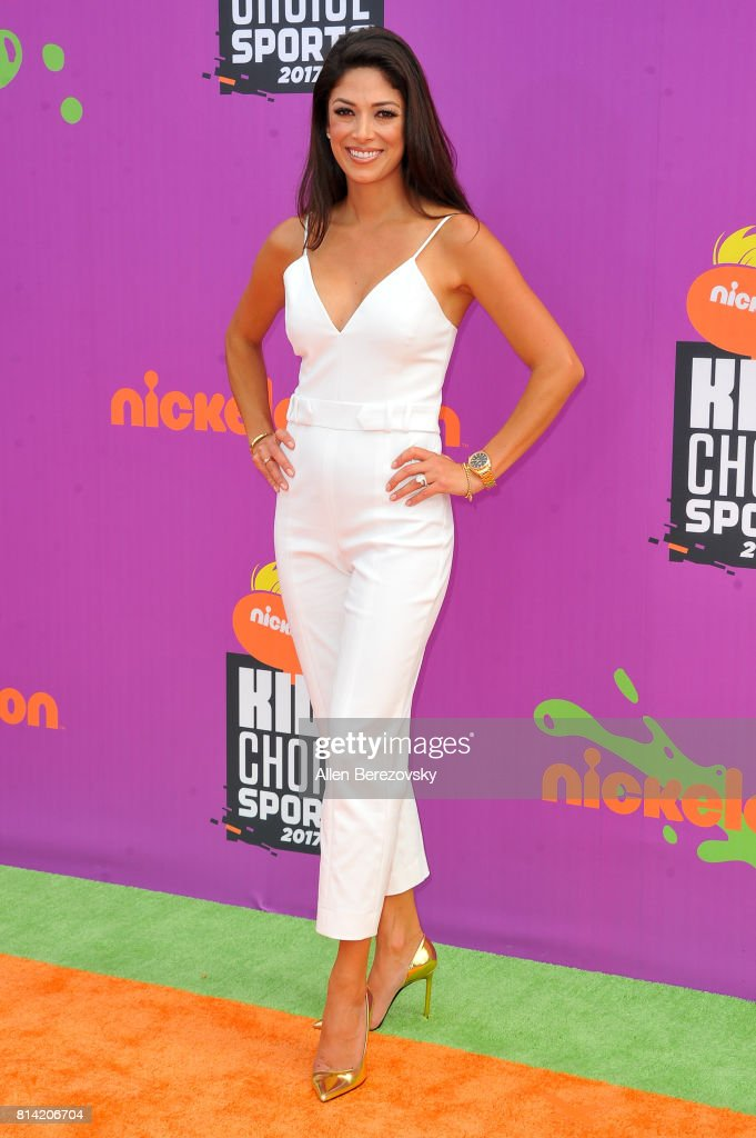 Nicole Johnson attends Nickelodeon Kids' Choice Sports Awards 2017 at Pauley Pavilion on July 13, 2017 in Los Angeles, California.