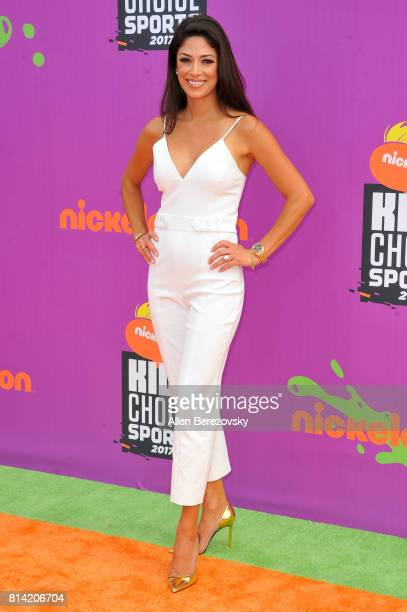 Nicole Johnson attends Nickelodeon Kids' Choice Sports Awards 2017 at Pauley Pavilion on July 13 2017 in Los Angeles California