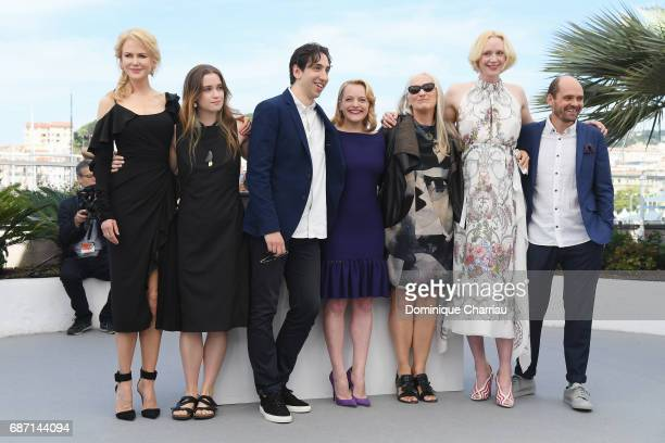 Nicole Kidman Alice Englert director Ariel Kleiman Elisabeth Moss director Jane Campion Gwendoline Christie and David Dencik attend the 'Top Of The...