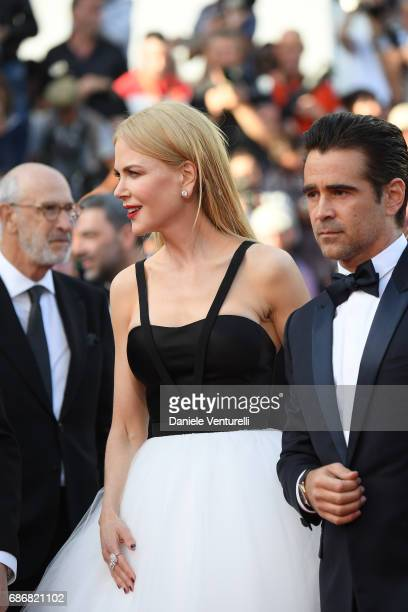 Nicole Kidman and Colin Farell attend the 'The Killing Of A Sacred Deer' screening during the 70th annual Cannes Film Festival at Palais des...
