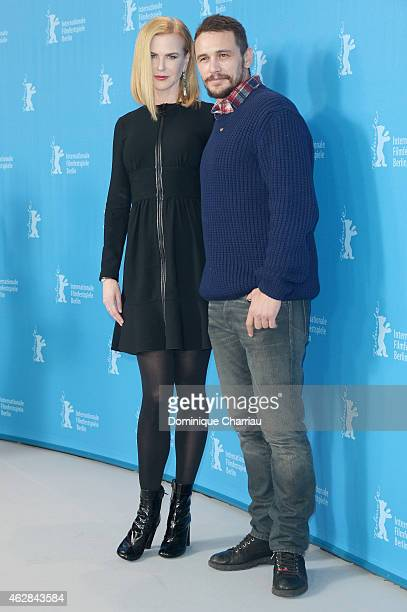Nicole Kidman and James Franco attend the 'Queen of the Desert' photocall during the 65th Berlinale International Film Festival at Grand Hyatt Hotel...