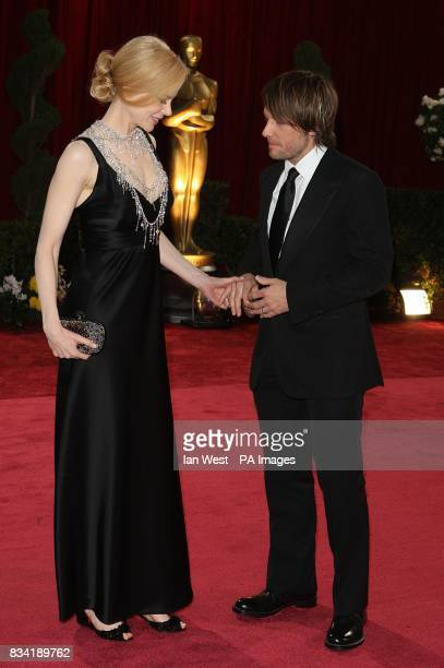 Nicole Kidman and Keith Urban arrive for the 80th Academy Awards at the Kodak Theatre Los Angeles