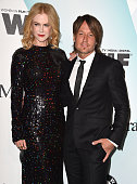 Nicole Kidman and Keith Urban arrives at the Women In Film 2015 Crystal Lucy Awards at the Hyatt Regency Century Plaza on June 16 2015 in Los Angeles...
