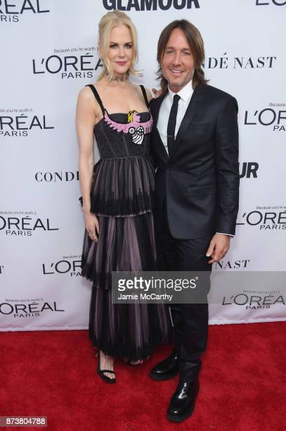 Nicole Kidman and Keith Urban attend Glamour's 2017 Women of The Year Awards at Kings Theatre on November 13 2017 in Brooklyn New York