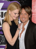 Nicole Kidman and Keith Urban attend the 2013 CMT Music awards at the Bridgestone Arena on June 5 2013 in Nashville Tennessee