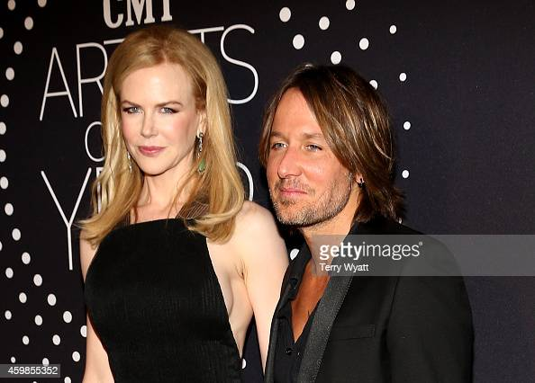 Nicole Kidman and Keith Urban attend the 2014 CMT Artists Of The Year at the Schermerhorn Symphony Center on December 2 2014 in Nashville Tennessee