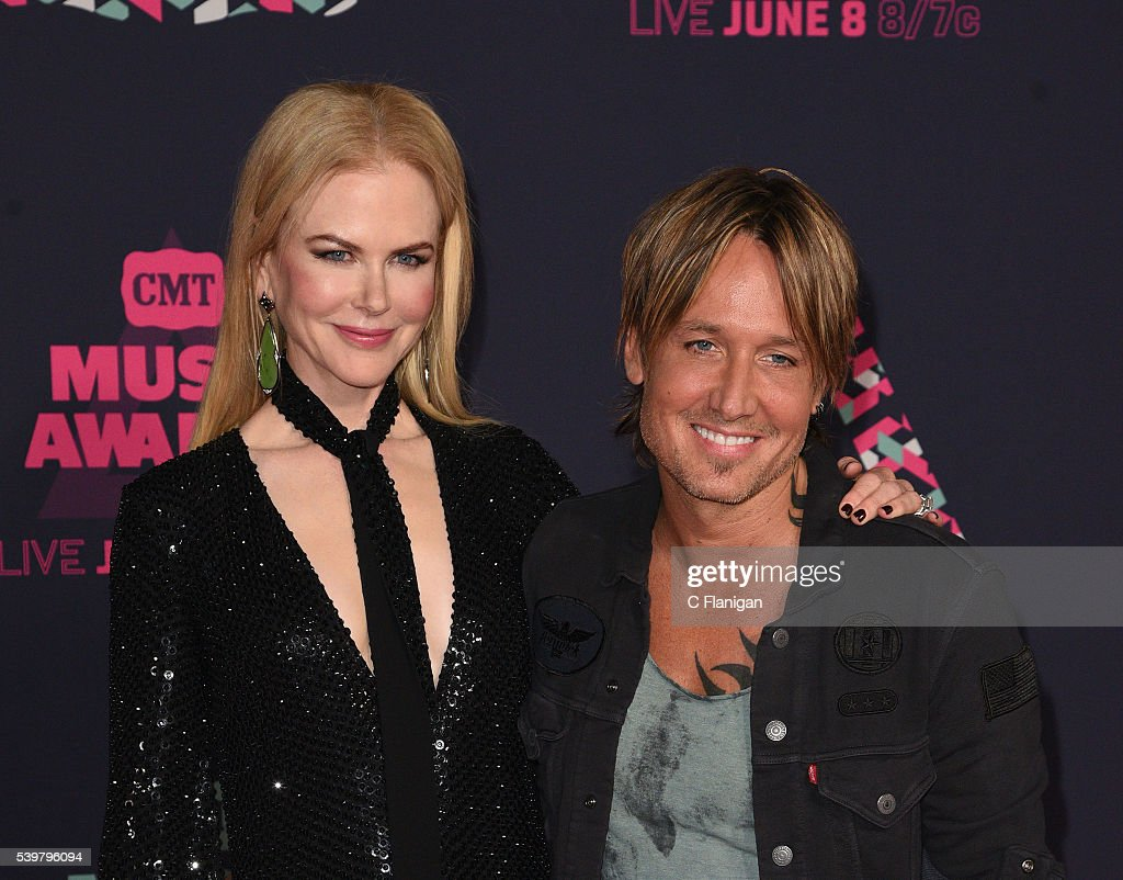 Nicole Kidman and Keith Urban attend the 2016 CMT Music awards at the Bridgestone Arena on June 8 2016 in Nashville Tennessee
