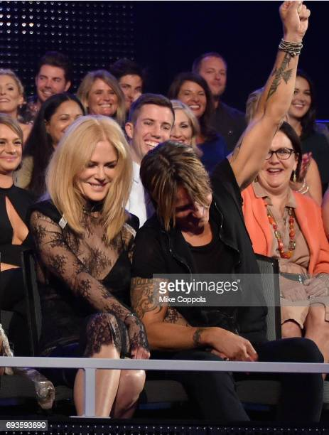 Nicole Kidman and Keith Urban attend the 2017 CMT Music Awards at the Music City Center on June 6 2017 in Nashville Tennessee