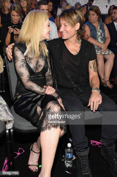 Nicole Kidman and Keith Urban attend the 2017 CMT Music Awards at the Music City Center on June 7 2017 in Nashville Tennessee